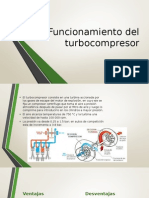 Funcionamiento Del Turbocompresor