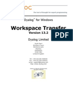 Dyalog APL Workspace Transfer Guide