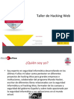 Cyber Camp Hacking Web