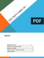 Presentacion de Power Point-DAPR
