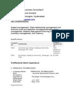 Process Associate Paralogic