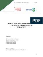 Atencion de Enfermeria Drenaje Toracico Incluye Aqua Seal
