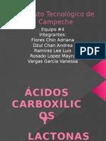 Ac. Carboxilicos y Lactonas
