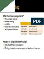 close reading slide