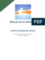 Manual de Calidad-Escuela de Canotaje
