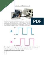 Tutorial How to U tutorial-how-to-use-a-quadrature-encoderse a Quadrature Encoder Rs011a