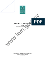 105 Architects Rules 1996