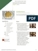 Conejo Al Curry Receta de Carme Castillo - Cookpad