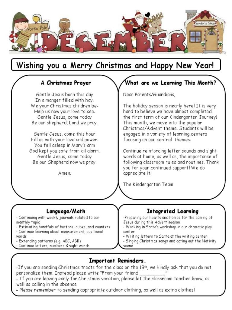 december 2015 newsletter   Christmas   Christmas And Holiday Season