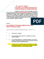technology competency and skills assessment 1