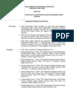 PP 20 Thn 2001- Pengawasan PEMDA
