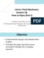 Flow in Pipes - Fluids Mechanic
