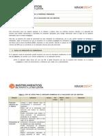 Instrumento Coherencia de Evaluacion Con Objetivos