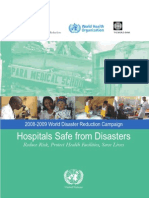 Disaster Resilient Hospital-who