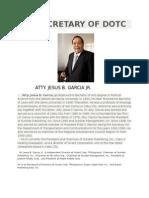Secretary of Dotc