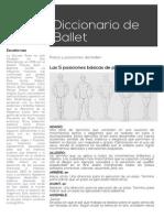 Diccionario Del Ballet by Stu