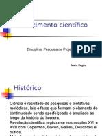 Conhecimento cientifico