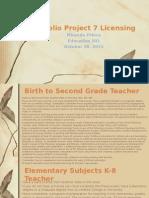 portfolio project 7 licensing