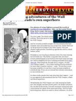 denver the astounding adventures of the wall creeper colorados own superhero - westword