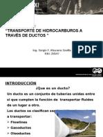 Transporte de Hidrocarburos a Traves de Tuberias - Sergio Altuzarra