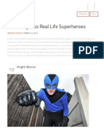 10 outrageous real life superheroes - listverse