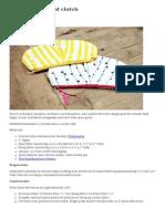DIY_ Sketchy Pleat Clutch