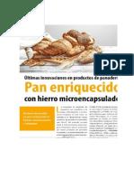 Avance en Ciencia de Panaderia