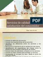 Servicios y Calidad Para La Satisfacción Del Cliente