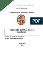 Medidas de Control Micro