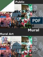 malacca river art   laman seni