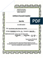 coffey - poster certificate