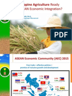 is philippine agriculture ready for asean economic integration  paeda