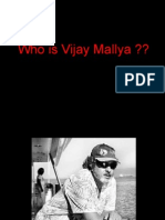 Business tycoon Vijay Mallya,business fortfolio