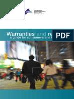 Warranties and Refunds
