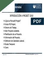 Introducción a Project 2010