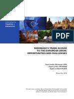 EU Market Access Study Final