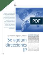 Agotan Direcciones IP