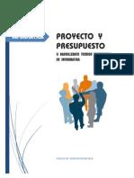 Material_proyecto y Presupuesto
