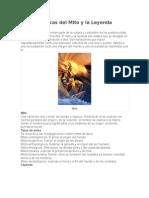 Características Del Mito y La Leyenda