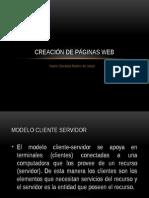 Creación de una página web