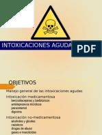 Intoxicacion medicamentos
