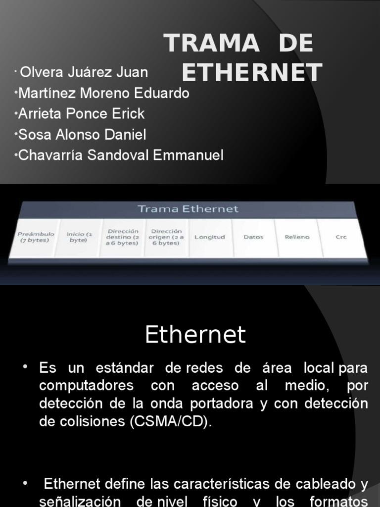 Trama Ethernet. pptx
