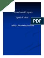 Analisis y DisenoOD