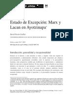 Marx y Lacan en Ayotzinapa