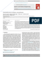 Sustainable Process Synthesis–Intensification_2015