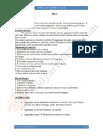 Advanced Concrete Technology Notes Unit 1