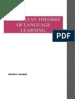 Chomskyan Theory and LAD