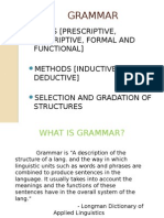 Tng of Grammar-ppt