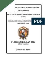 PLAN DE ESTUDIOS CIVIL-UNSCH