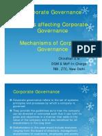 Regulation and Corporate